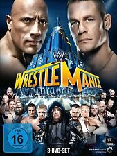 WWE Wrestlemania 29 2013 3 DVDs orig WWF Wrestling Rock vs John Cena