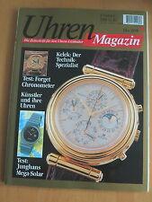 Uhren-Magazin Nr. 5 1994 Heft: Kelek, Forget, Junghans Mega-Solar, Künstleruhren