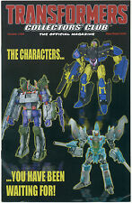 TRANSFORMERS COLLECTORS CLUB MAGAZINE #58 August/September 2014