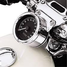 Harley-Davidson Chrome Instrument Gauge Bezel  74541-00