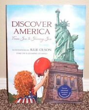 Discover America: From Sea to Shining Sea by Julie Olson 2014 1SED LDS MORMON HB