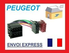 CABLE FAISCEAU ISO AUTORADIO PEUGEOT ROVER SAAB + AUTRES MARQUES NEUF UNIVERSEL