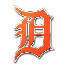 Detroit Tigers Die-Cut Metal Auto Emblem [NEW] MLB Car Decal Sticker CDG