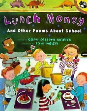 Lunch Money And Other Poems About School (Picture Puffin)-ExLibrary