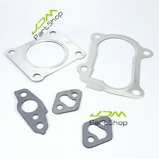 Turbo Gasket TOYOTA CT26 SUPRA Land Cruiser 1HD 7MGTE 12HT MR2 Stainless 5U
