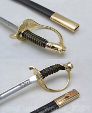 Hand Forge Europe Military Officer's Sword  Sword Stainless Steel  Alloy Fitting