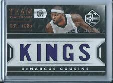 2015-16 Panini Limited DeMarcus Cousins Kings Team Trademarks Jersey /149