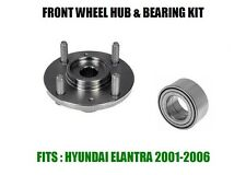 Fits:Hyundai Elantra Front Wheel Hub And Bearing Kit Assembly 2001-2006