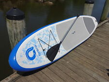 """Avenli 320A (6"""" Thick) Inflatable SUP Stand Up Paddle Board Package"""