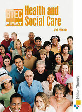 Valerie Michie BTEC First Health & Social Care 2nd Edition Very Good Book