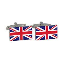 Drapeau Union Jack Boutons de manchette Britannique ROYAUME-UNI Anglais Great