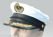 Navy Sailor Captain Officer Stag Night Nautical Fancy Dress Hat