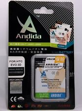 Lot of 10 Andida Battery 2000mAh for HTC Amaze 4G / HTC Evo 3D EVO3D