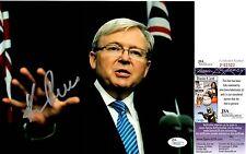 Kevin Rudd Signed 8x10 Photo w/ JSA COA #P92322 Former Australia Prime Minister