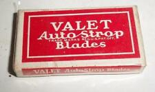 box of 5 Gillette Double Edge Valet Autostrop safety Razor Blade made in usa