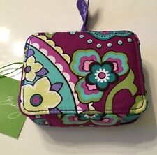 NWT Vera Bradley 7DAY +1 TRAVEL PILL CASE /Cosmetics HEATHER  Hard To Find
