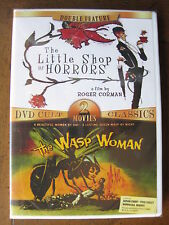 LITTLE SHOP OF HORRORS /  WASP WOMAN (Cult Classics Double Feature) BRAND NEW!!