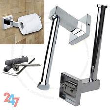 Salle de bain chrome carré mural toilettes rouleau papier tissu titulaire S247