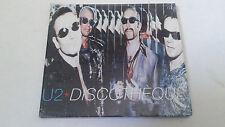 """U2 """"DISCOTHEQUE"""" CD SINGLE 3 TRACKS DIGIPACK PRECINTADO SEALED"""