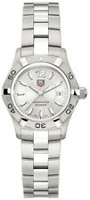 ON SALE TAG HEUER WOMENS AQUARACER WAF1412.BA0812 SWISS QUARTZ STEEL WATCH