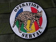 """Patch / écusson """" OPERATION SERVAL """" - MALI Afrique Guerre OPEX tap Légion"""