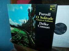 PURCELL: O Solitude (Anthems and songs)   Deller Consort / Harmonia Mundi LP F