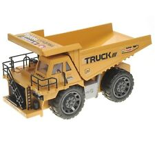 1:10 RC Construction Dump Truck Earthmover Remote Control  6CH Lights & Sound