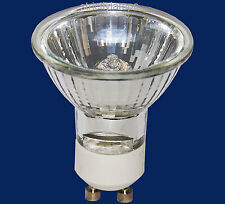 10 x GU10 Halogen Lamp Light Bulb £6.95 BARGAIN  50W