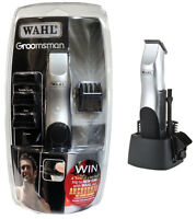 Wahl 9906-2017 Groomsman Cordless  Hair Beard Body Clipper Trimmer kit