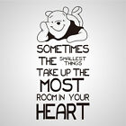 Wall stickers Winnie smallest things Decal Removable Art Vinyl Decor Home Kids