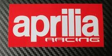 Aprilia racing custom Motorcycle graphics stickers decals x 2PCS Large