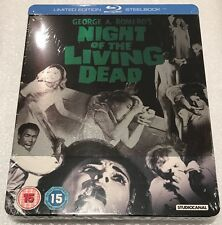 Night Of The Living Dead Steelbook - UK Exclusive Limited Edition Blu-Ray