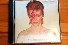 Mega Rare David Bowie Aladdin Sane EMI CDP7947682 10 Tracks 1990 Uk NM