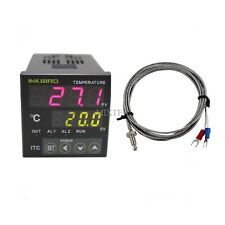 12V Digital PID INKBIRD Temperature Controller ITC-100RL + K Thermocouple Sensor