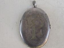 RARE GERMAN Silver Plated PENDANT WW1 period