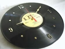 "DON McLEAN Recycled Record Wall Clock ""American Pie"" (1971)"