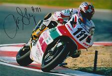 Aaron SLIGHT SIGNED Superbike Rider CASTROL HONDA 12x8 Photo AFTAL COA Autograph