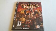 Overlord: Raising Hell (Sony Playstation 3, 2008) With Mini-Map