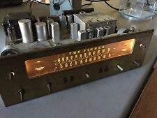 Vintage Fisher 100T Tube Stereo Tuner/Preamp Preamplifier