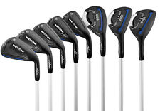 Adams Idea Tech Hybrid Irons Set Graphite 8-Piece 3-5Hybrid, 6-Pw, LH- golf