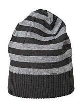 Diesel Men's Cap Logo Brand K-Grofys Striped Hat - Black