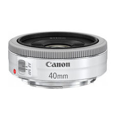 *BRAND NEW*Canon EF 40mm F/2.8 STM White Lens Bulk package+UV Filter
