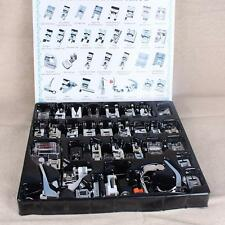 32 PCS Sewing Machine Presser Foot Feet Tool Kit Set For Brother Singer Domestic
