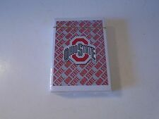 Ohio State University Buckeyes Playing Cards Poker Size Brutus New in Plastic