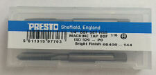 """Presto UK 1/4"""" x 26tpi HSS BSF Set of 3 taps / Direct from RDGTools"""