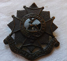 An Original Military WW2 Bedfordshire & Hertfordshire Officers Cap Badge (1681)