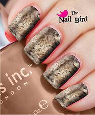 Nail Wraps Nail Decals Nail Transfers Nail Art Sexy Snake Skin