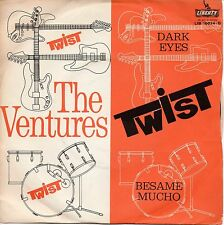 "THE VENTURES 7"" PS ITALY top ! 1962 dark eyes - besame mucho"