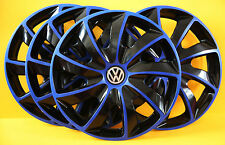 "4x16"" VW TRANSPORTER T5,Sharan,Golf,Eos...WHEEL TRIMS,COVERS,HUB CAPS,"