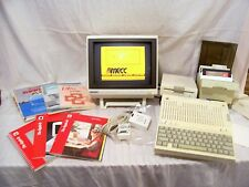 Vintage Apple IIc Complete Computer System w/Software ~HUGE PACKAGE~ WORKS~